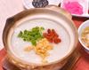 薬膳中国スタミナ粥(スープ•お新香 付き)