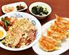 健太餃子とチャーシュー丼セット