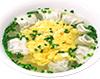 卵スープ一口健太餃子