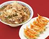 健太餃子と肉野菜ラーメンセット