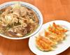 肉野菜ラーメンランチ