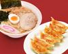 健太餃子と佐野ラーメンセット(あっさり)