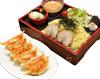 つけ麺と健太餃子セット