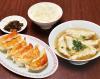 おすすめ1(焼き餃子6ヶ、スープ餃子6ヶ、ライス)