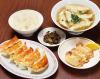 おすすめ3(焼き餃子6ヶ、揚げ餃子3ヶ、スープ餃子、ライス)